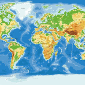 Mapa Mundial Completo de la Antártida – Agora