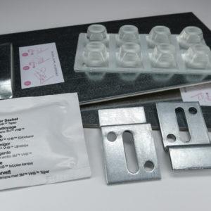 Paquete de Fijación Adhesiva + Soportes Murales