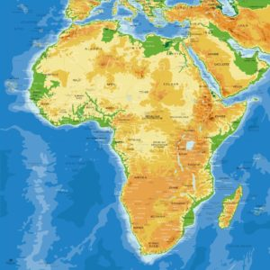 Mapa América del Sur