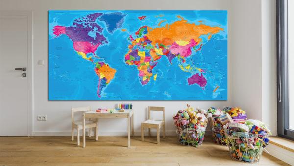 Cuadro-Mapa-Mundial