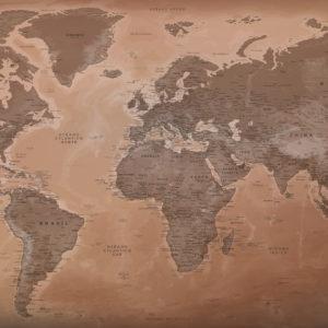 Hermoso Mapa del Mundo – Luxor