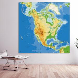 Mapa América del Norte