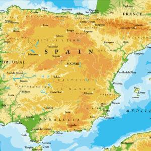 Mapa España Detallado