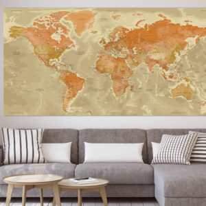 Mapa Mundial – Persépolis