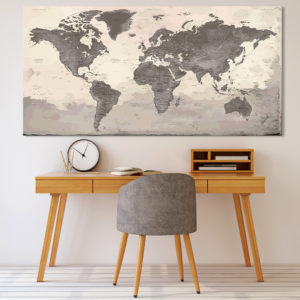 Mapa Mundial Mural – Peyrepertuse