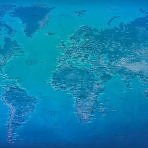 Mapa Mundial en Gran Formato – Morrena