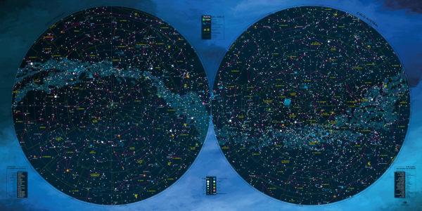 Mapa-del-Cielo-Hemisferio-Norte-y-Sur