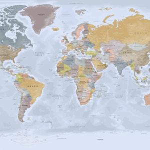 Mapa del Mundo Completo – Angkor
