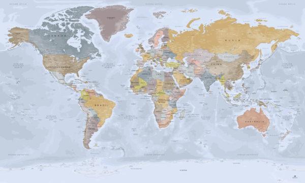 Mapa del Mundo Completo