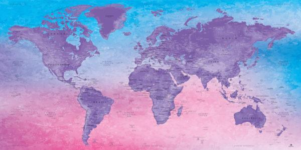 Mapa-del-Mundo-Decorativo