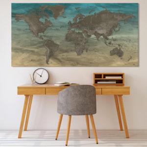 Mapa del Mundo Original – Gobi