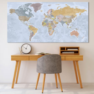 Mapa del mundo – Angkor