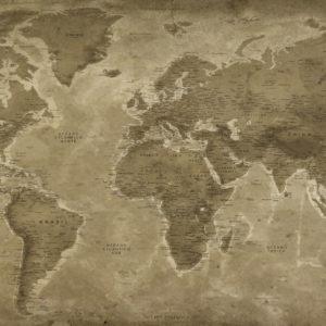 Mapa del mundo Vintage – Lascaux