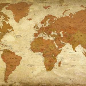 Mapamundi Vintage – Petra