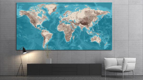 Planisferio-Mural